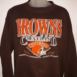 🔥VTG 80's Cleveland Browns Crewneck Sweatshirt🔥